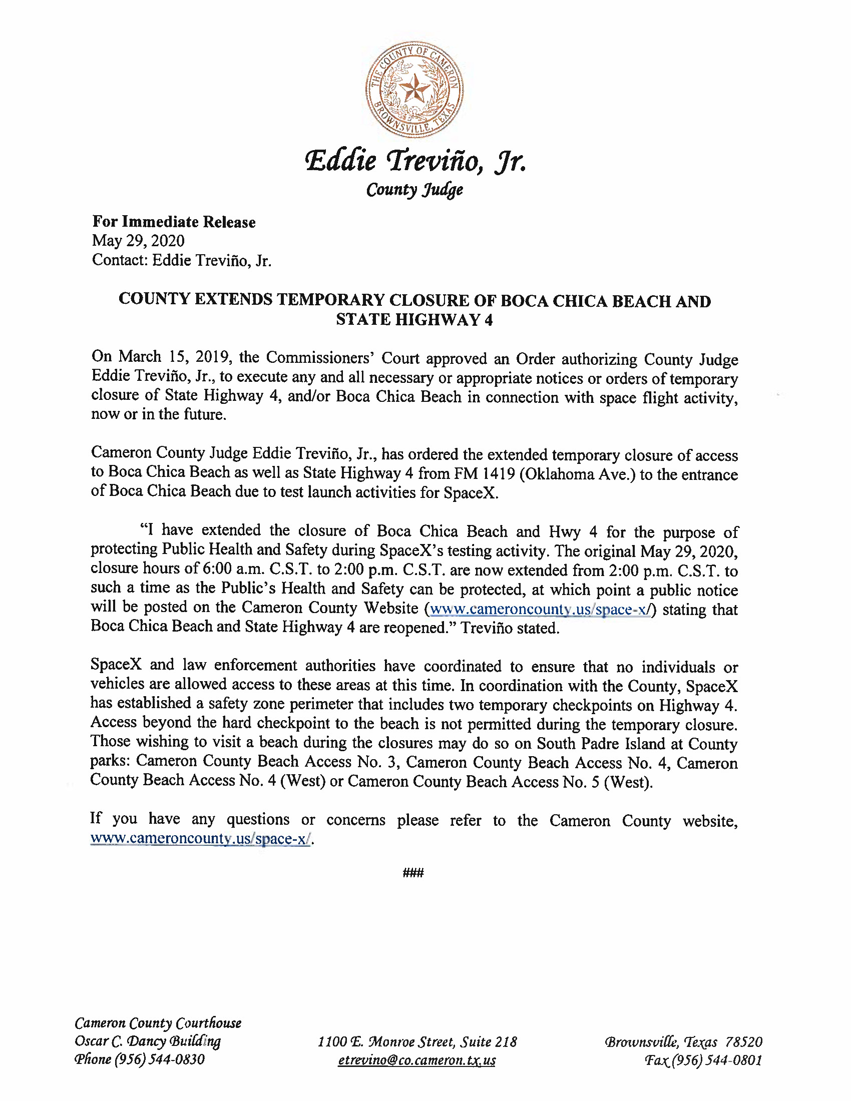 Press Release In English And Spanish.05.29.20 Page 1