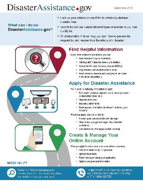 Disaster Assistance Factsheet-English