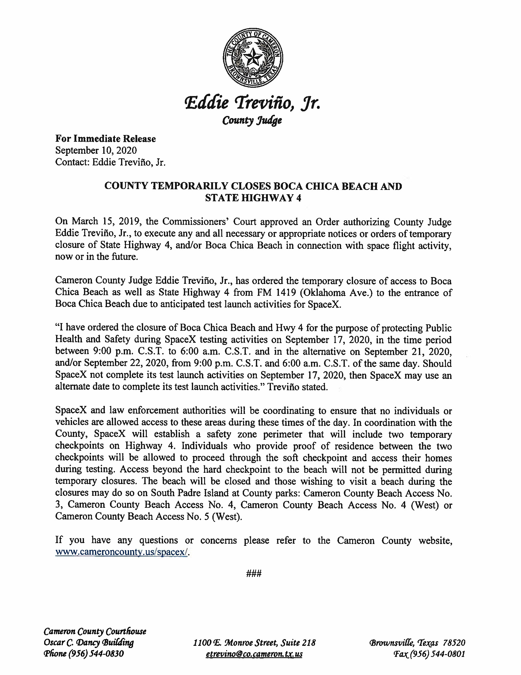 Press Release In English And Spanish.09.17.20 Page 1