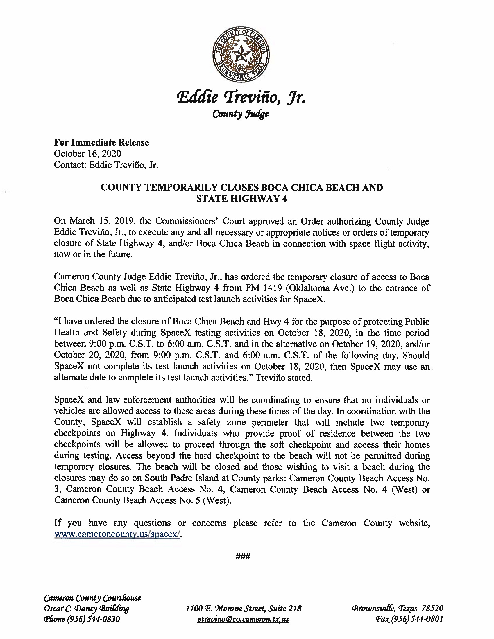 Press Release In English And Spanish.10.18.20 Page 1