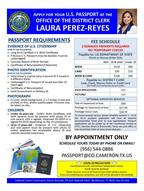 Passport Flyer Appointment