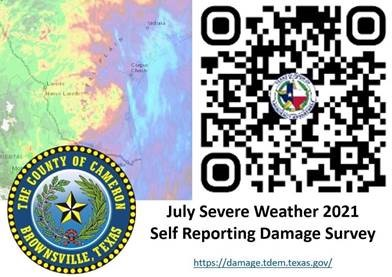 July Severe Weather 2021 Self Reporting Damage Survey